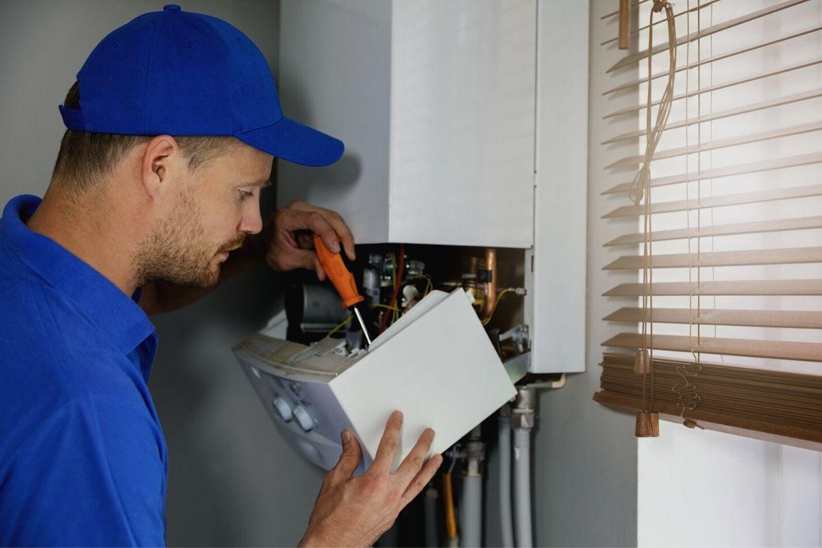 Mantenimiento de una caldera para obtener el certificado RITE