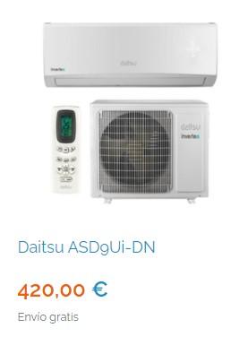 Mejores aires acondicionados de 4500 frigorías en Madrid 3