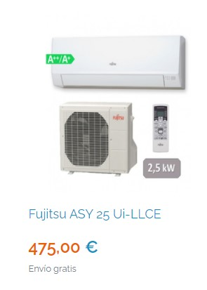 Mejores aires acondicionados de 4500 frigorías en Madrid 2