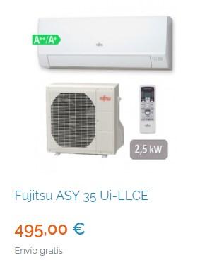 Mejores aires acondicionados de 4500 frigorías en Madrid 6