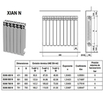 Ferroli elemento aluminio XIAN 450 3