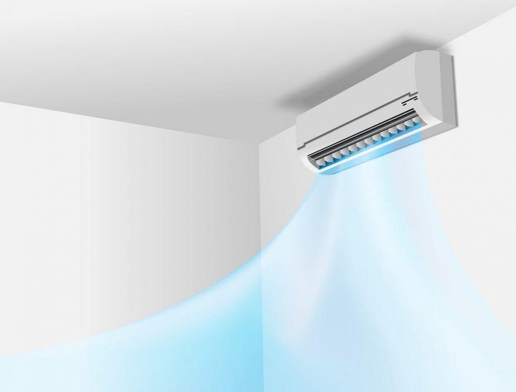 sistema de aire acondicionado split